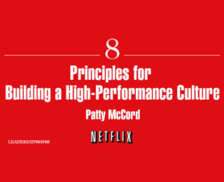 8 Principles for Building a High-Performance Culture