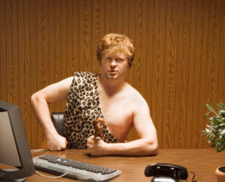 The Stone Age answer to your desk job