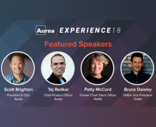 Best-Selling Authors and Workplace Culture Experts from Twitter and Netflix to Keynote at Aurea Experience 18