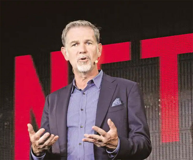 Netflix's Reed Hastings conquered Hollywood with a PowerPoint presentation