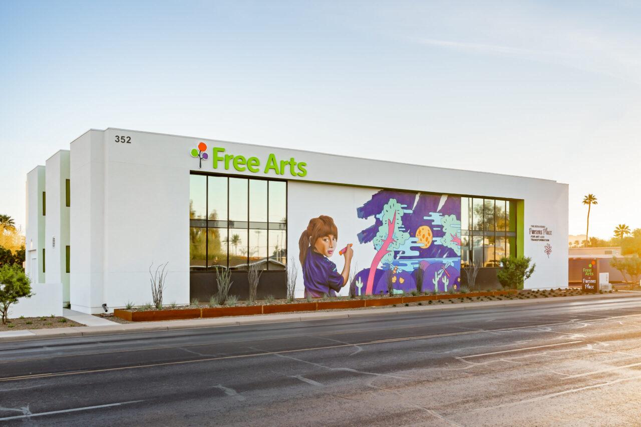 Free Arts exterior (1of2)