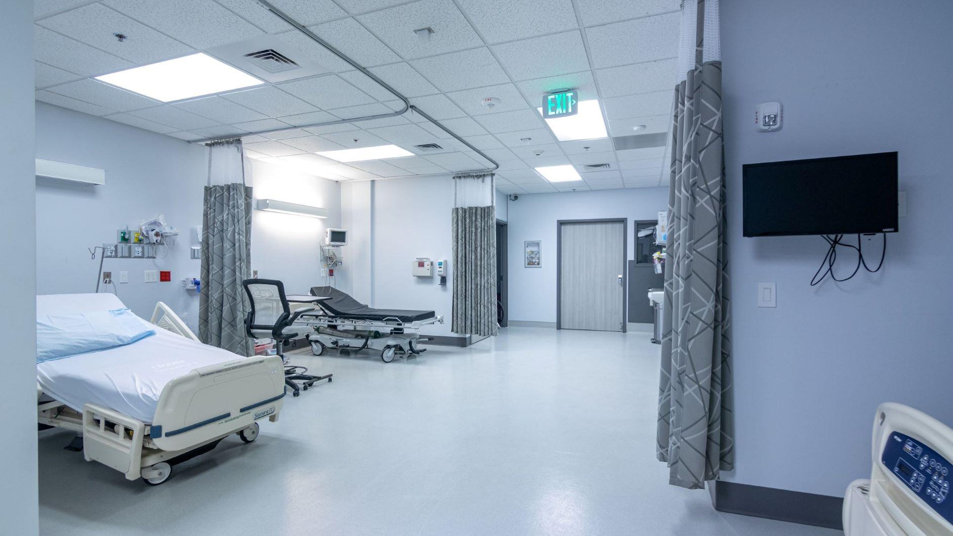 Corner of Surgery Room