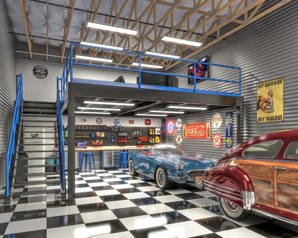 Red Hawk Garage Suites