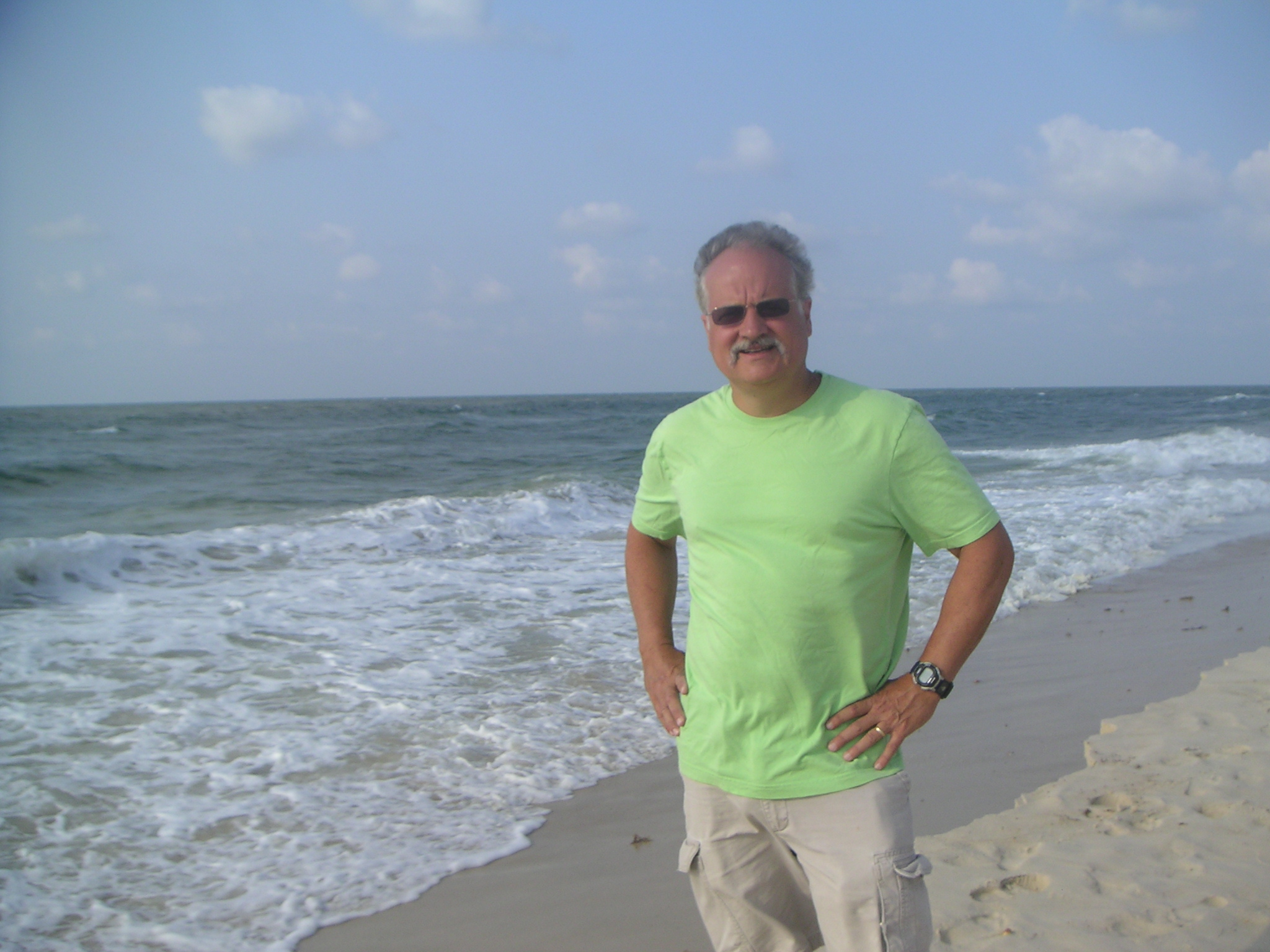 Mike on St. George Island 2006