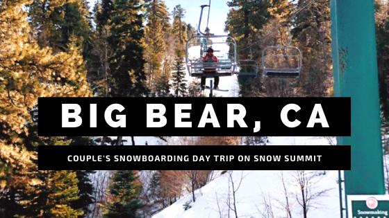 Big Bear Couple's Snowboarding Day Trip