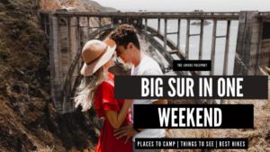 Big Sur Bixby Bridge