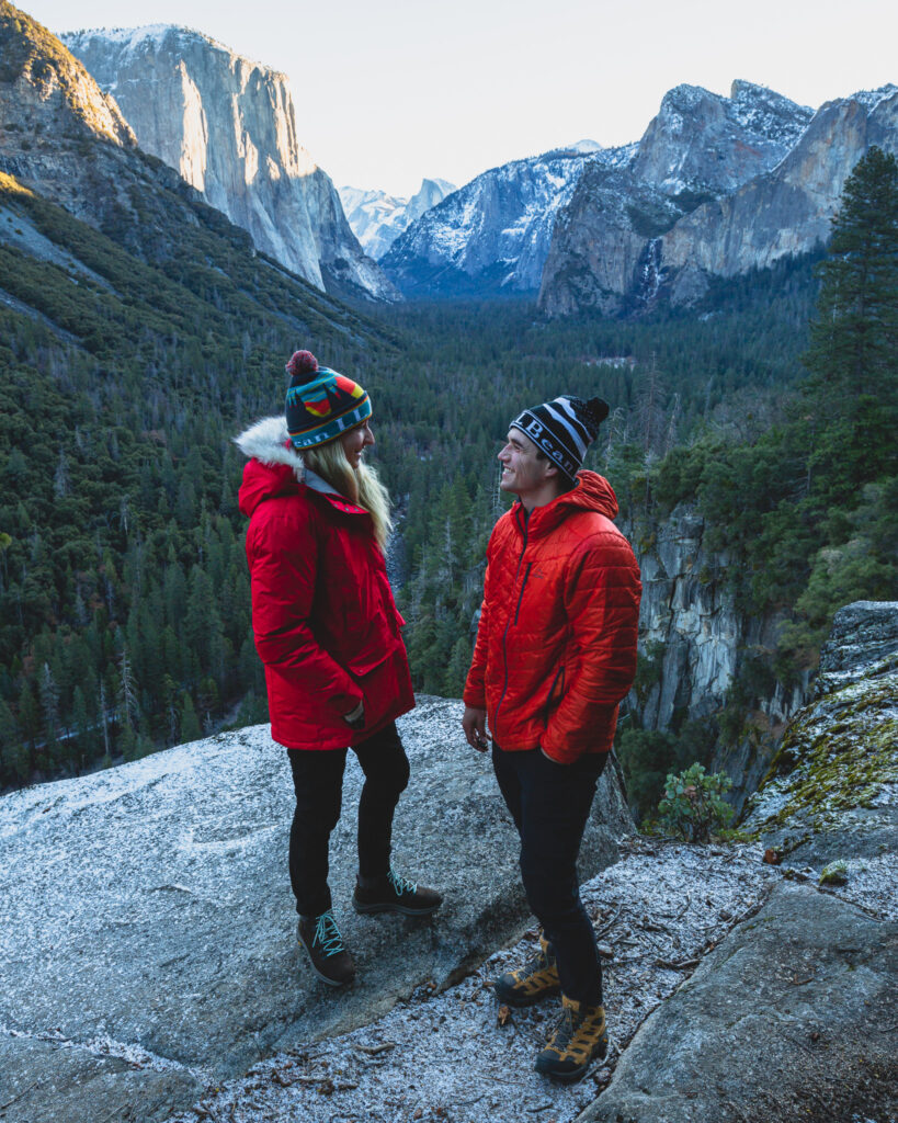 Adventure Couple wearing the Best Hiking Shoes for Outdoor Adventures