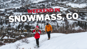 Weekend in Snowmass Colorado