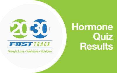 Hormone Quiz Results