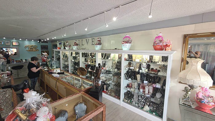 Judys Jewelry Inside Store