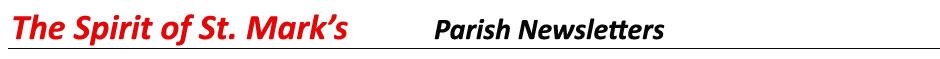 Parish Newsletters