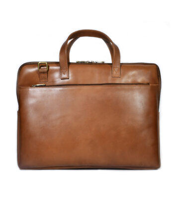 Tanner Leather Briefcase