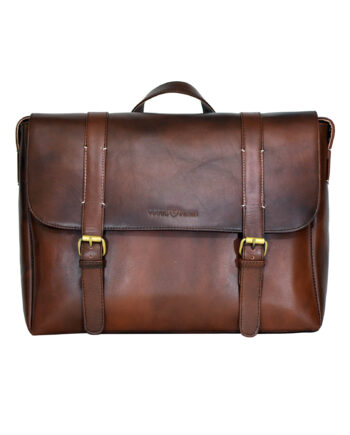 Chestnut Aura Messenger Bag