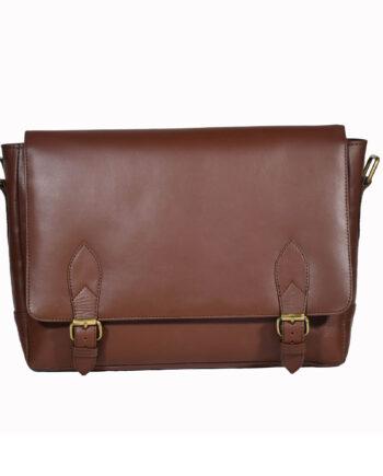 Brown Urban Messenger Bag