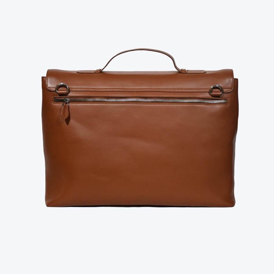 Maverick Tan Briefcase 2