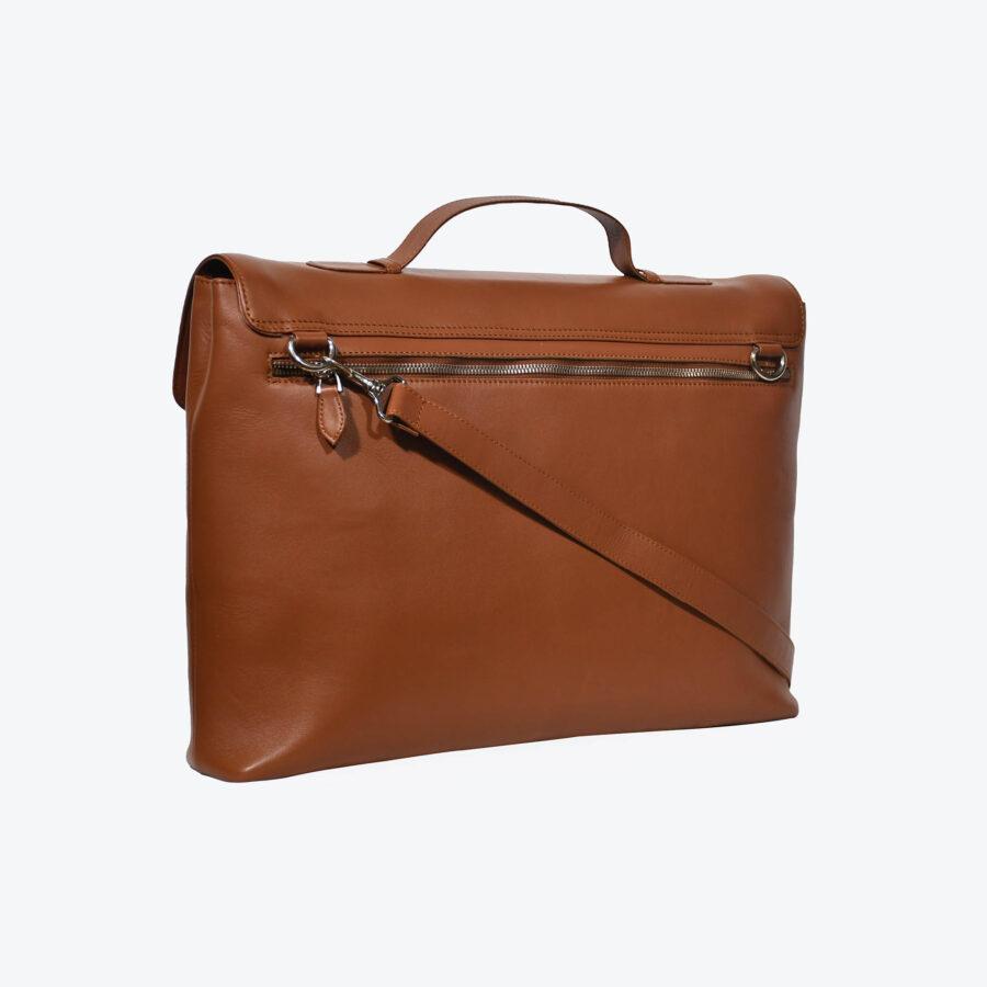 Maverick Tan Briefcase 3