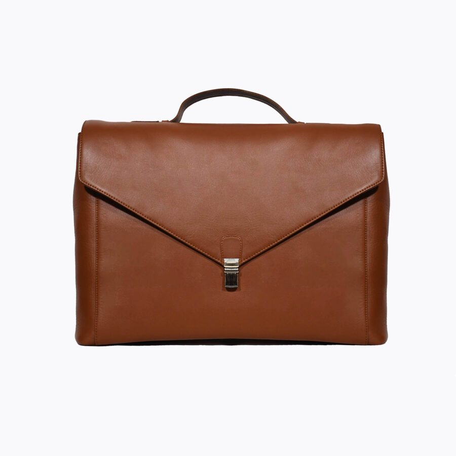 Maverick Tan Briefcase