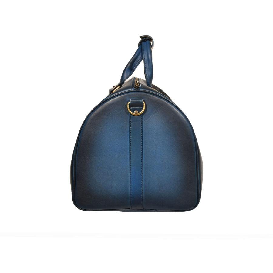 Blue Arran Weekend Bag