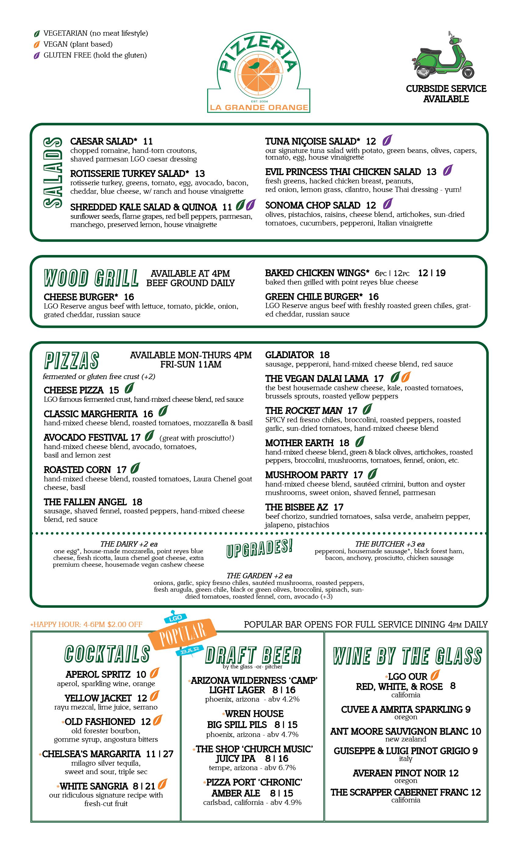 Pizzeria Menu (Legal) - 07.03.21