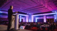 Mike Collins Charlotte Squawks CRVA Partners in Tourism Awards