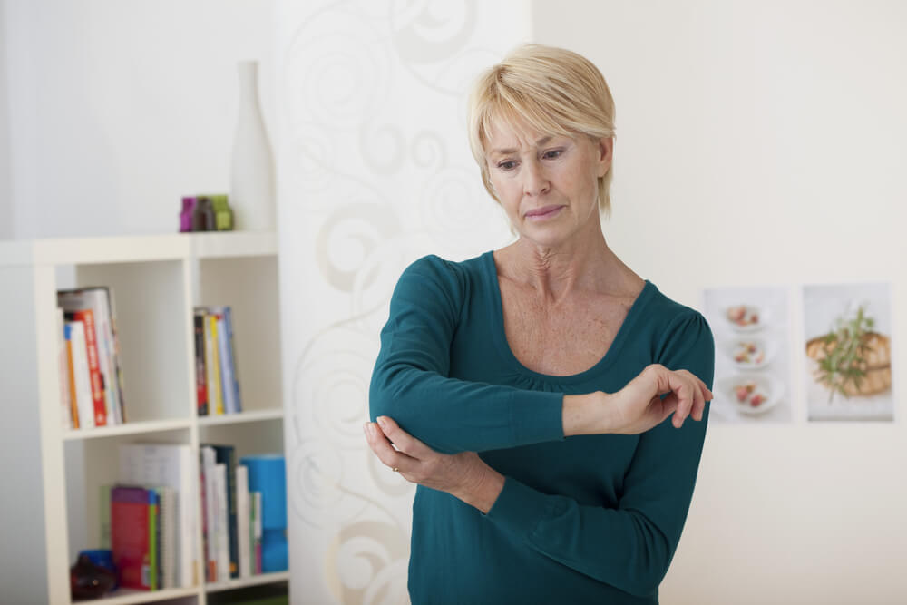 What can cause shoulder and elbow pain at the same time?