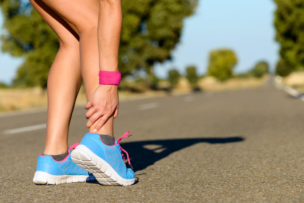 Why do I feel ankle pain after running?