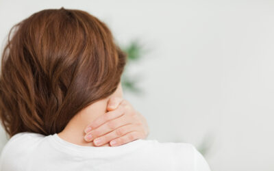 What can physical therapists do for the neck pain at the base of your skull?