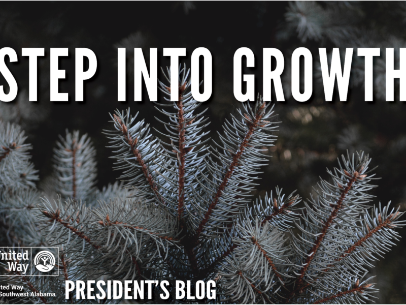 Step Into Growth President's Blog