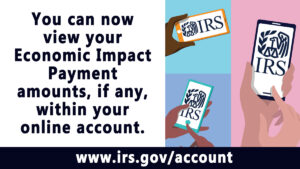 You can now view your Economic Impact Payment amounts within your online account. www.irs.gov/account