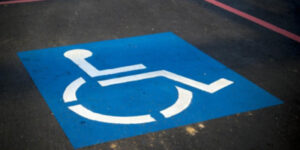 handicapped parking spot #3