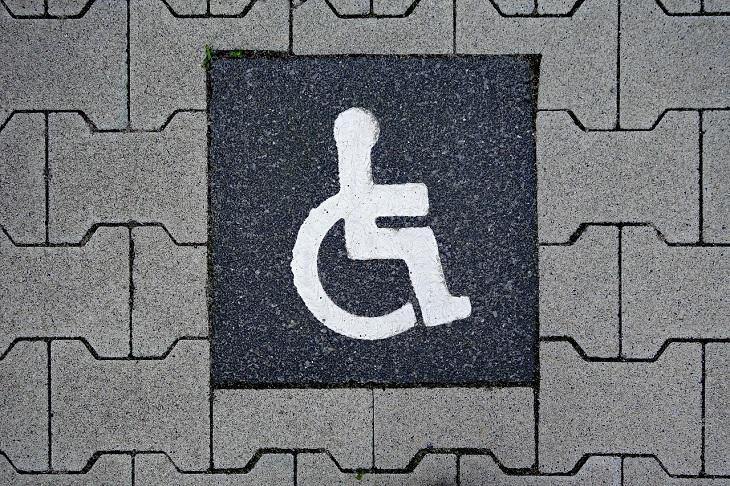 Disabled Parking - disabled parking sign