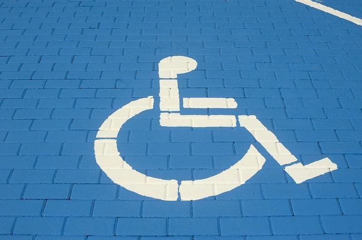 Disabled Parking - handicap parking sign