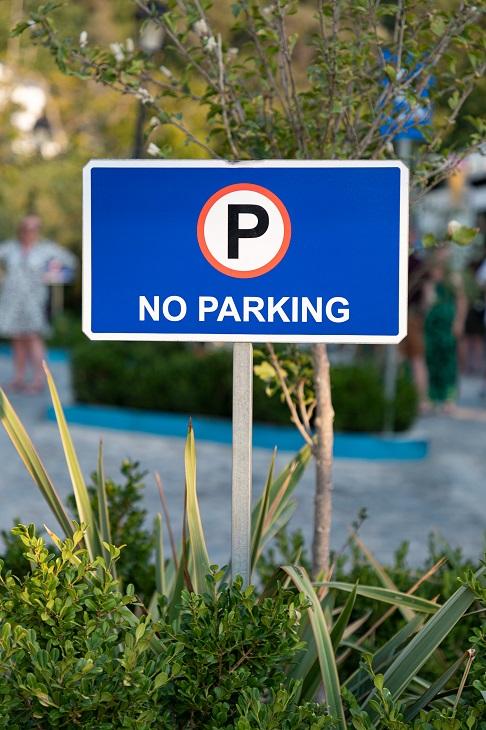 Disabled Parking - no parking