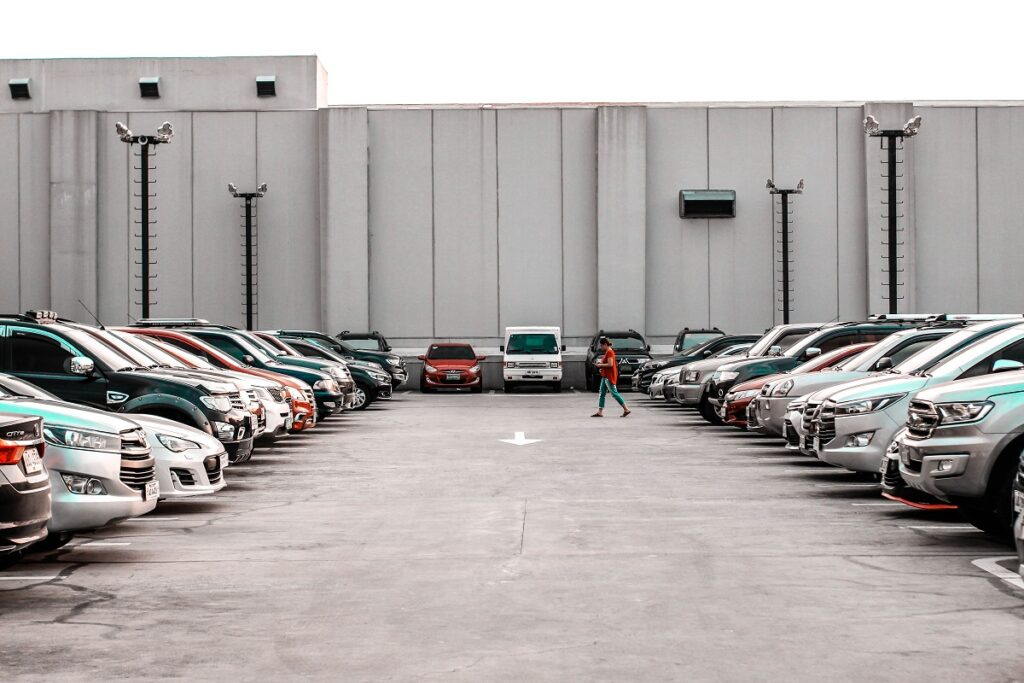 Disabled Parking - parking lot