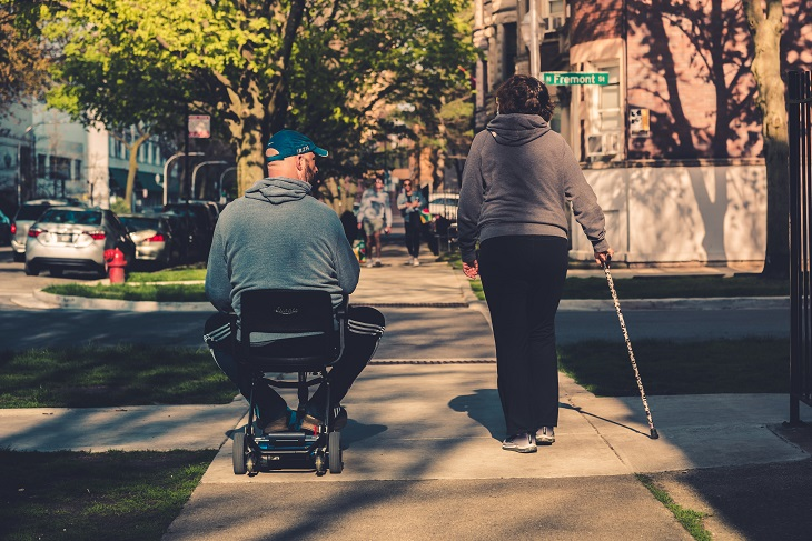 people with mobility issues