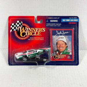 1997 John Force Castrol GTX 1/64 Scale Diecast- Winner's Circle Packaging