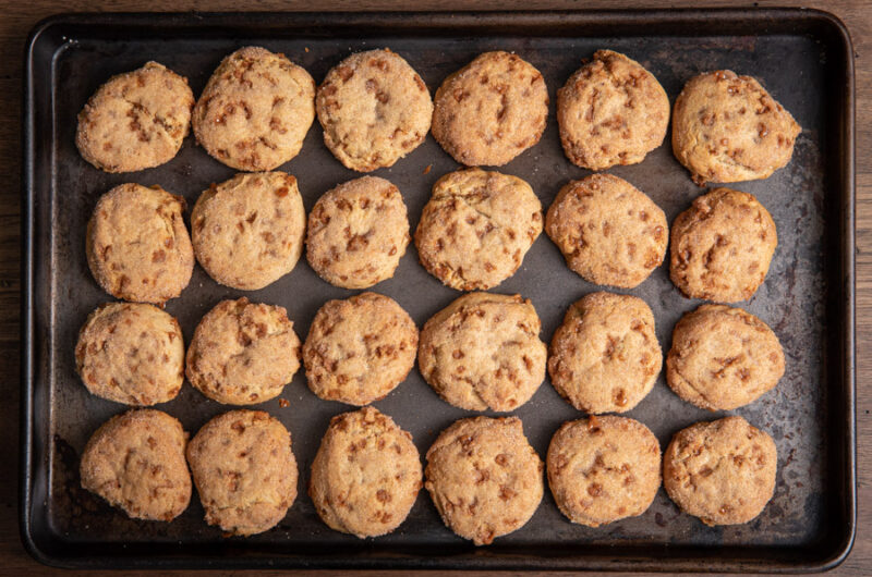 Toffee Bite Cookies