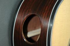 Custom built acoustic guitar