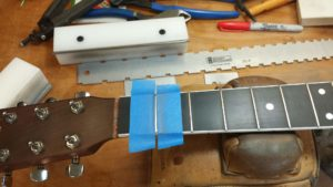 Guitar repairs by The Guitar Doctor Mike Haney