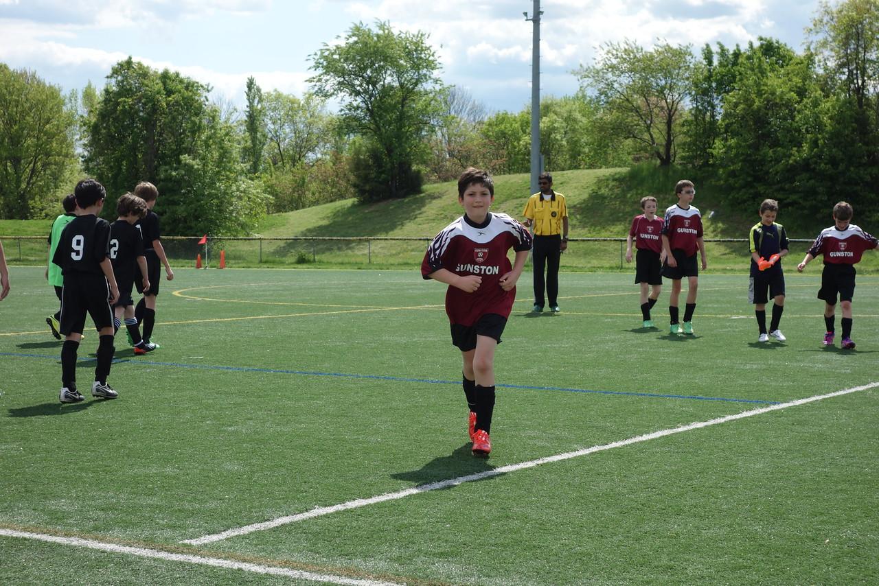 Soccer game 3 of the season