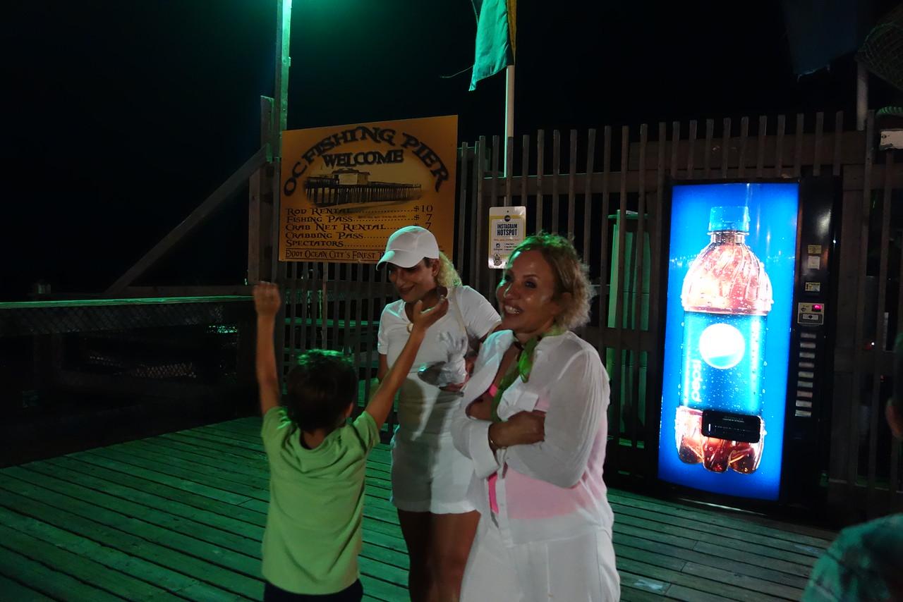Tuna at the pier