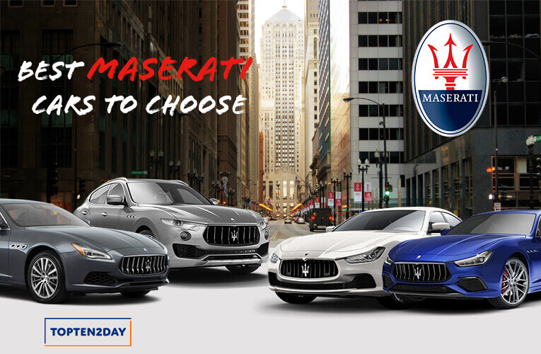 Best MaseratiCars to Choose