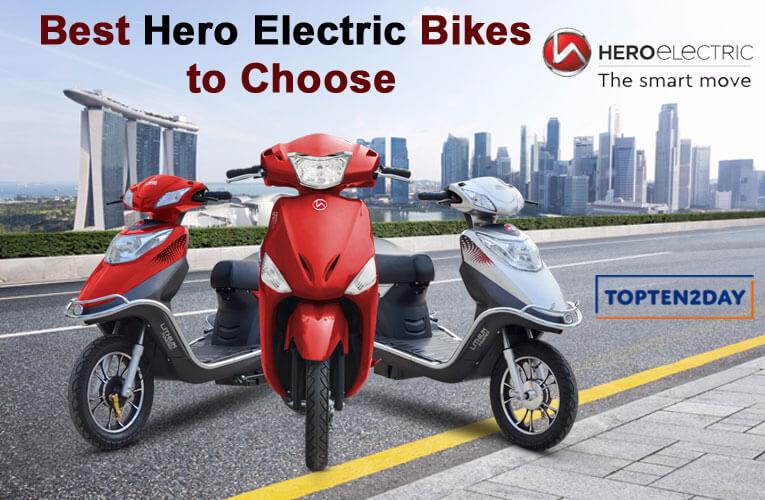Best Hero Electric Bikes to Choose
