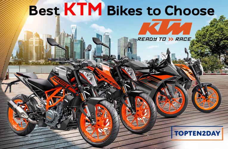 Best KTM Bikes to Choose