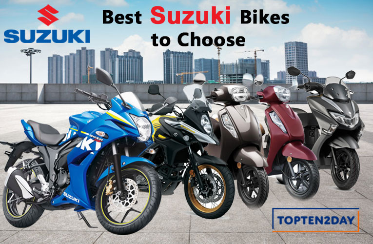 Best‌ Suzuki Bikes‌ ‌to‌ ‌Choose