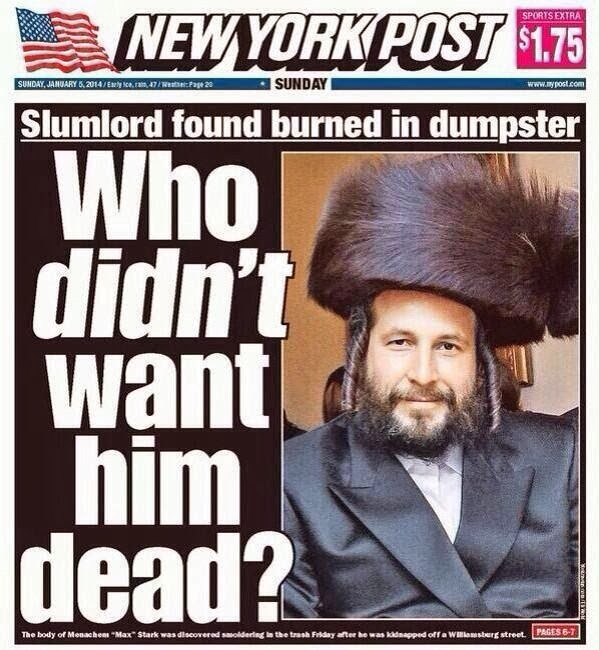 Why I relate to the murder of Menachem Stark and why his family should feel grateful
