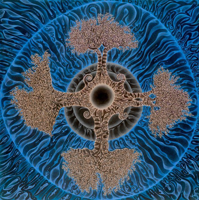 vibrant star 1 blue centertif