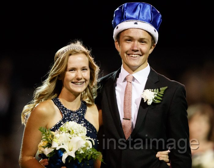 Homecoming King and Queen, Elise Brady and Danny Dudley