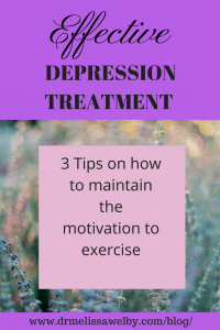 Exercise is one answer to the question of how to overcome depression. In order to be successful, it is important to figure out how to stay motivated when depressed. Wondering how to help depression and maintain motivation for exercise? Read here for 3 tips to make it easier.