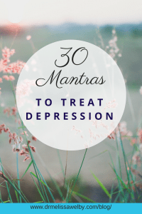 Our thoughts help shape how we feel. Postive, healing mantras can be used as one tool to help fight off depression. Interrupt negative thoughts with powerful mantras for depression management. Use these 30 mantra examples to get you started. It takes daily mantras for positive thinking to take hold.